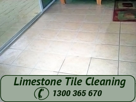 Limestone Tile Cleaning The Entrance